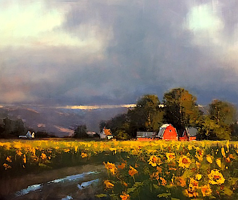 Youngquist oil painting landscape